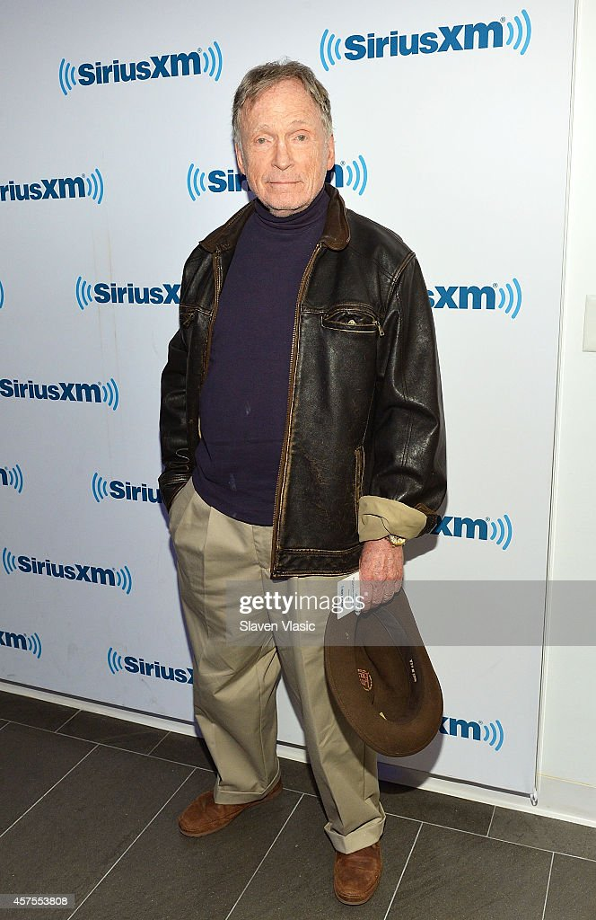 TV personality <a gi-track='captionPersonalityLinkClicked' href=/galleries/search?phrase=Dick+Cavett&family=editorial&specificpeople=217287 ng-click='$event.stopPropagation()'>Dick Cavett</a> visits SiriusXM Studios on October 20, 2014 in New York City.