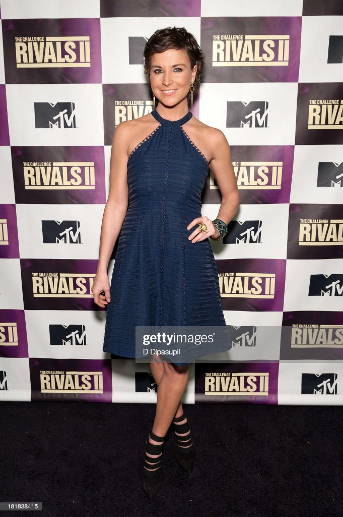TV personality <a gi-track='captionPersonalityLinkClicked' href=/galleries/search?phrase=Diem+Brown&family=editorial&specificpeople=962153 ng-click='$event.stopPropagation()'>Diem Brown</a> attends MTV's 'The Challenge: Rivals II' Final Episode and Reunion Party at Chelsea Studio on September 25, 2013 in New York City.