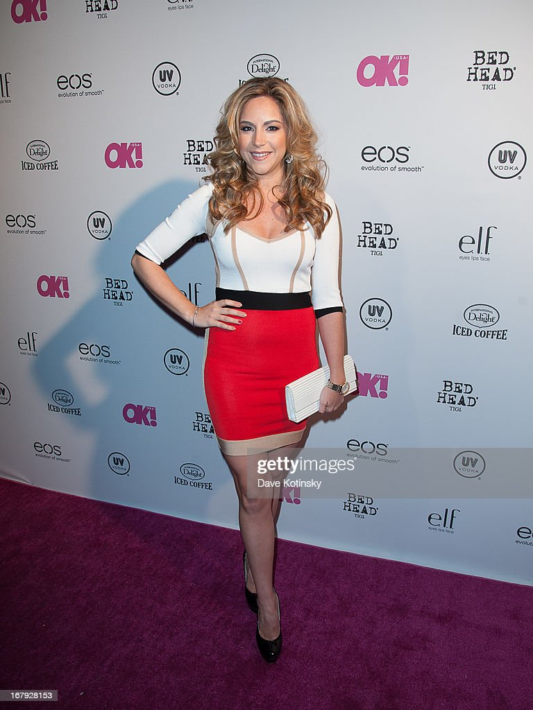 TV personality Dina Deleasa attends OK! Magazine 'So Sexy' Party at Marquee on May 1, 2013 in New York City.