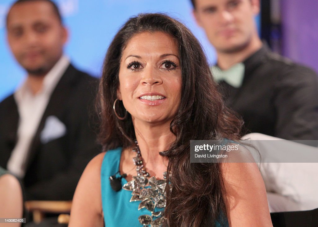 TV Personality Dina Eastwood attends the NBCUniversal summer press day held at The Langham Huntington Hotel and Spa on April 18, 2012 in Pasadena, California.