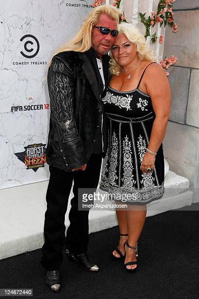 TV personality Dog the Bounty Hunter and his wife Beth Chapman attends the Comedy Central Roast of Charlie Sheen at Sony Studios on September 10 2011...