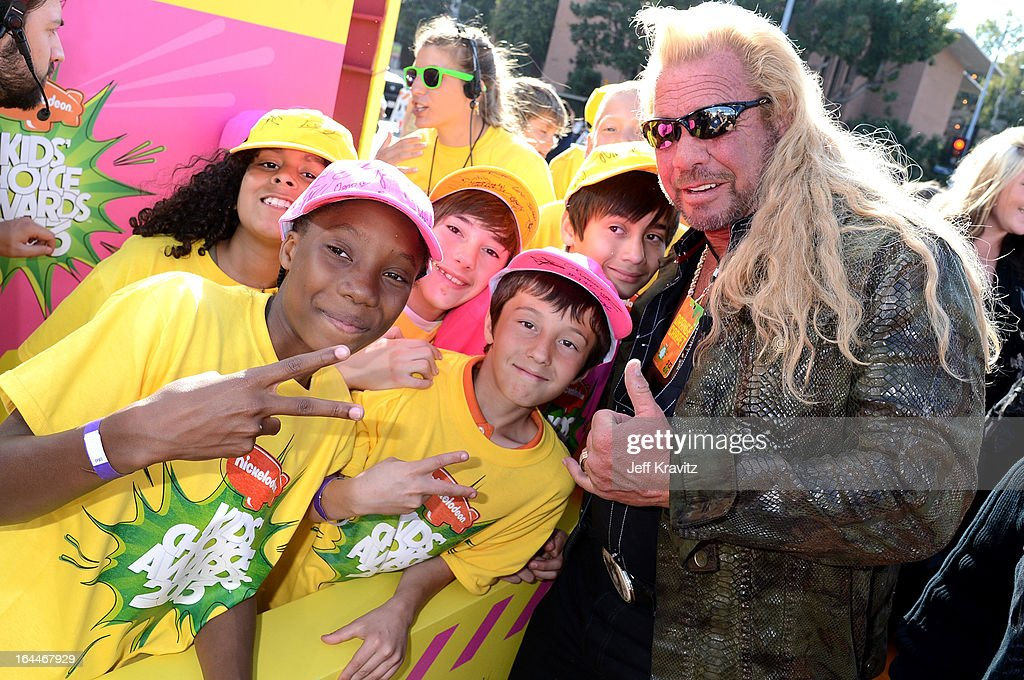 TV personality Dog the Bounty Hunter arrives at Nickelodeon's 26th Annual Kids' Choice Awards at USC Galen Center on March 23, 2013 in Los Angeles, California.