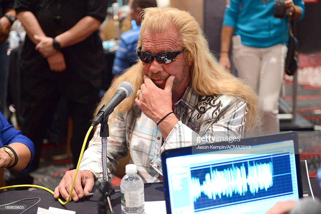 TV personality Dog the Bounty Hunter attends the Dial Global Radio Remotes during The 48th Annual Academy of Country Music Awards at the MGM Grand on April 5, 2013 in Las Vegas, Nevada.
