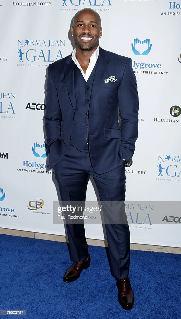 TV Personality Dolvett Quince arriving at the 2nd Annual Norma Jean Gala 2014 at The Paley Center for Media on March 18, 2014 in Beverly Hills, California.