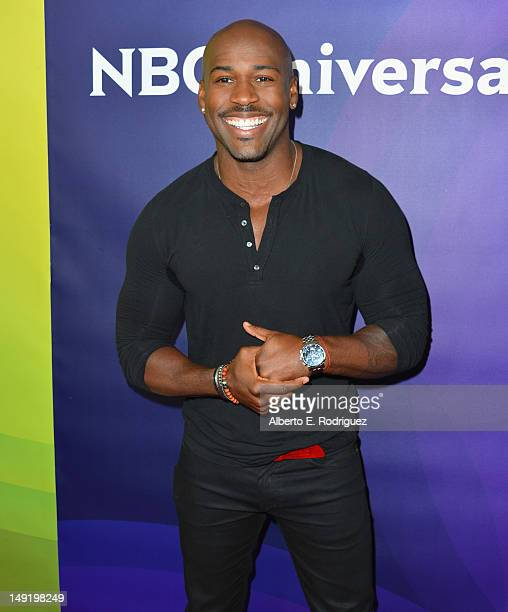 TV personality Dolvett Quince attends NBC Universal's 2012 Summer TCA Tour at The Beverly Hilton Hotel on July 24 2012 in Beverly Hills California