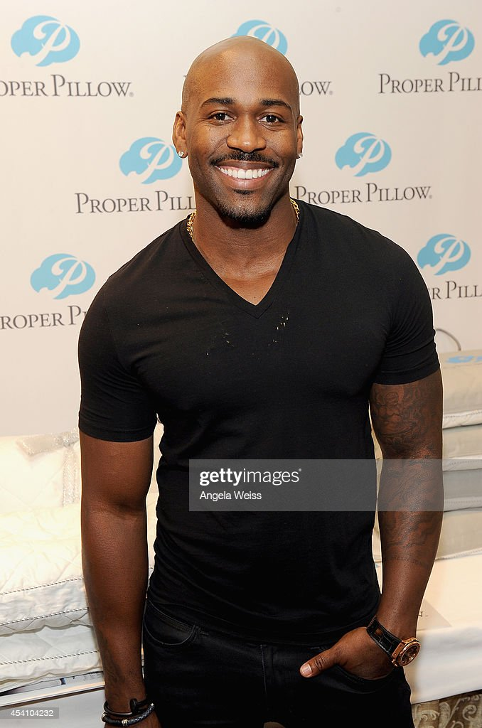 TV personality Dolvett Quince attends the HBO Luxury Lounge featuring PANDORA at Four Seasons Hotel Los Angeles at Beverly Hills on August 24 2014 in...