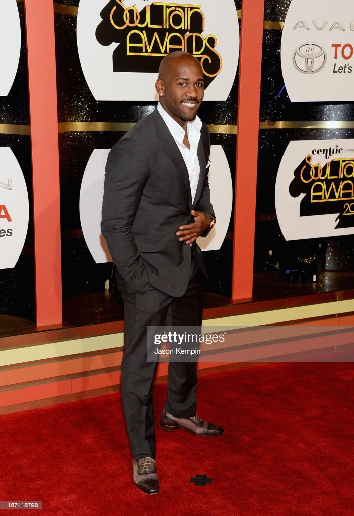 TV personality Dolvett Quince attends the Soul Train Awards 2013 at the Orleans Arena on November 8, 2013 in Las Vegas, Nevada.