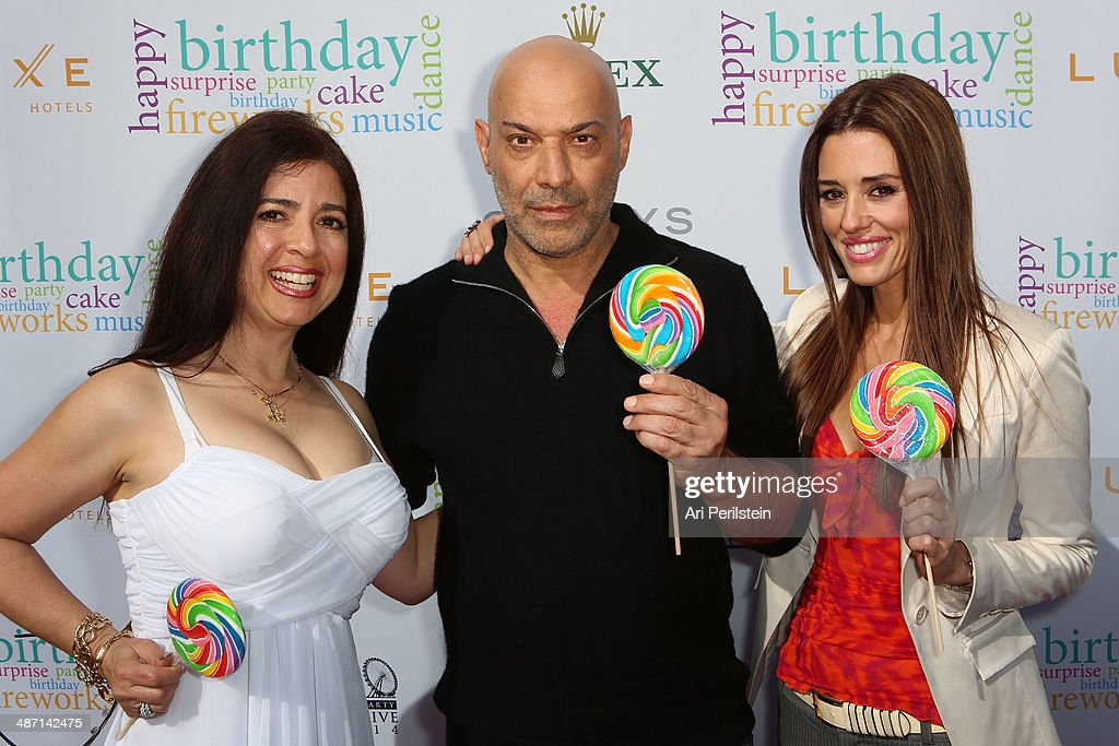 TV Personality Dominique Pinassi TV Personality Yossi Dani and TV Personality Cory Oliver attends BH100 Centennial Block Party On Rodeo Drive on...