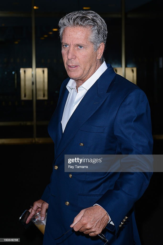 TV personality <a gi-track='captionPersonalityLinkClicked' href=/galleries/search?phrase=Donny+Deutsch&family=editorial&specificpeople=642511 ng-click='$event.stopPropagation()'>Donny Deutsch</a> enters the 'Today Show' taping at the NBC Rockefeller Center Studios on August 16, 2012 in New York City.
