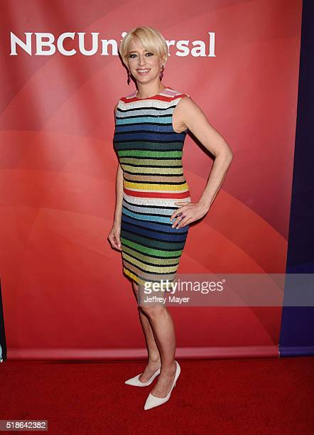 TV personality Dorinda Medley arrives at the 2016 Summer TCA Tour NBCUniversal Press Tour at the Four Seasons Hotel Westlake Village on April 1 2016...