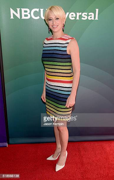 TV personality Dorinda Medley attends the 2016 NBCUniversal Summer Press Day at Four Seasons Hotel Westlake Village on April 1 2016 in Westlake...