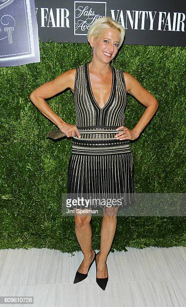 TV personality Dorinda Medley attends the 2016 Vanity Fair International Best Dressed List at Saks Fifth Avenue on September 21 2016 in New York City