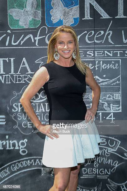 TV personality Dorothy Lucey attends The Mending Kids Malibu Guild 2nd Annual Hometown Mission Event at Triunfo Creek Vineyards on April 26 2014 in...