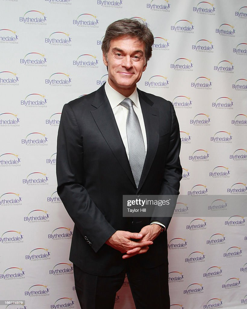 TV personality Dr. Mehmet Oz attends the Blythedale Children's Hospital's 6th annual Spring Fundraiser at The Lighthouse at Chelsea Piers on April 16, 2013 in New York City.