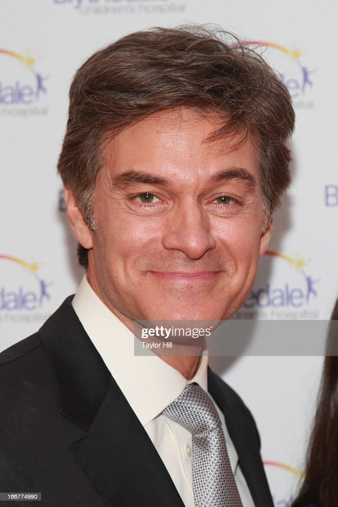 TV personality Dr. <a gi-track='captionPersonalityLinkClicked' href=/galleries/search?phrase=Mehmet+Oz&family=editorial&specificpeople=4175862 ng-click='$event.stopPropagation()'>Mehmet Oz</a> attends the Blythedale Children's Hospital's 6th annual Spring Fundraiser at The Lighthouse at Chelsea Piers on April 16, 2013 in New York City.