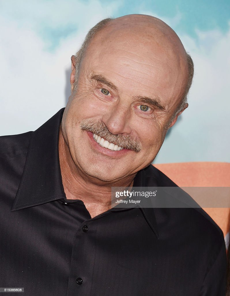 TV personality Dr. <a gi-track='captionPersonalityLinkClicked' href=/galleries/search?phrase=Phil+McGraw&family=editorial&specificpeople=234933 ng-click='$event.stopPropagation()'>Phil McGraw</a> attends Nickelodeon's 2016 Kids' Choice Awards at The Forum on March 12, 2016 in Inglewood, California.
