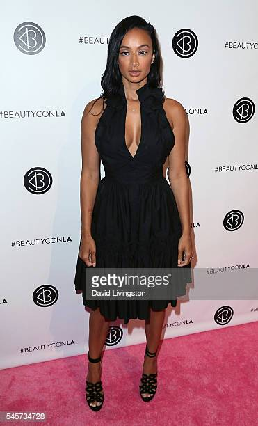 TV personality Draya Michele attends the 4th Annual Beautycon Festival Los Angeles at the Los Angeles Convention Center on July 9 2016 in Los Angeles...