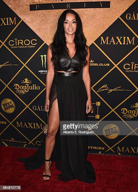 TV personality Draya Michele attends the Maxim Hot 100 Party at the Hollywood Palladium on July 30 2016 in Los Angeles California