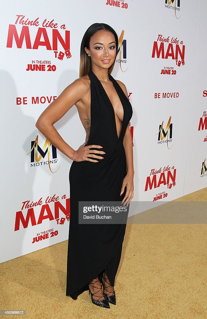 TV personality <a gi-track='captionPersonalityLinkClicked' href=/galleries/search?phrase=Draya+Michele&family=editorial&specificpeople=8019170 ng-click='$event.stopPropagation()'>Draya Michele</a> attends the Premiere Of Screen Gems' 'Think like a man too' at TCL Chinese Theatre on June 9, 2014 in Hollywood, California.