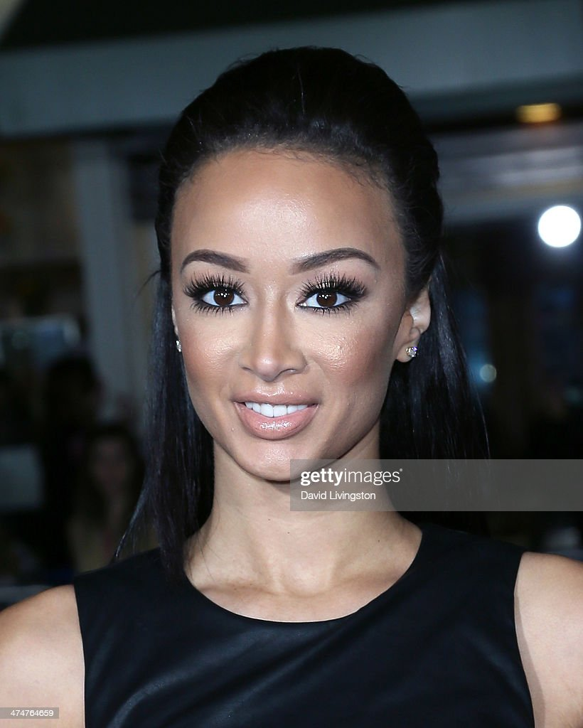 TV personality Draya Michele attends the premiere of Universal Pictures and Studiocanal's 'Non-Stop' at the Regency Village Theatre on February 24, 2014 in Westwood, California.