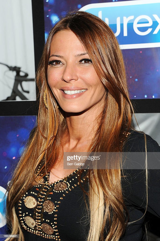 TV personality Drita D'Avanzo attends the Hotel Durex Charity Event Benefiting dance4life at Dream Downtown on April 2, 2013 in New York City.