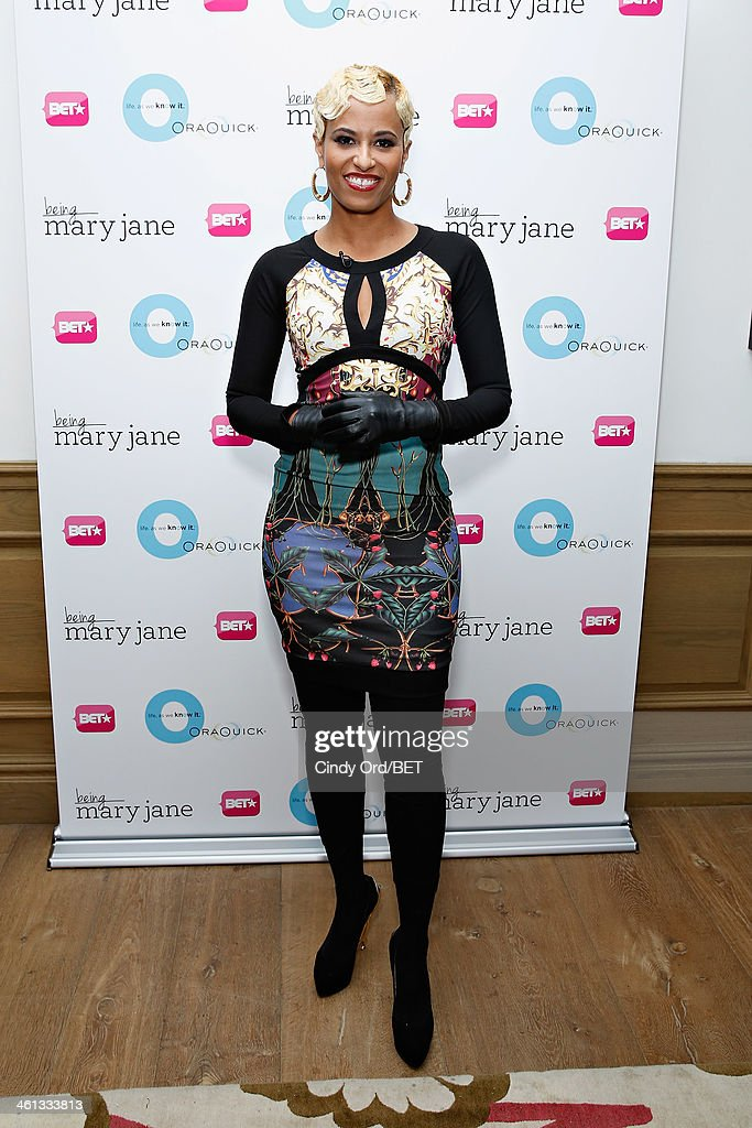 TV personality Dr.Rachael Ross attends as BET Networks partners with OraQuick for 'Life As We Know It', a special panel series about relationships and an advance screening of the program 'Being Mary Jane' at The Crosby Hotel on January 7, 2014 in New York City.