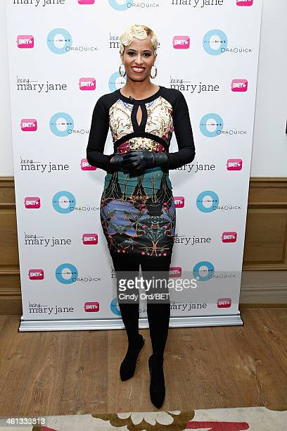 TV personality DrRachael Ross attends as BET Networks partners with OraQuick for 'Life As We Know It' a special panel series about relationships and...