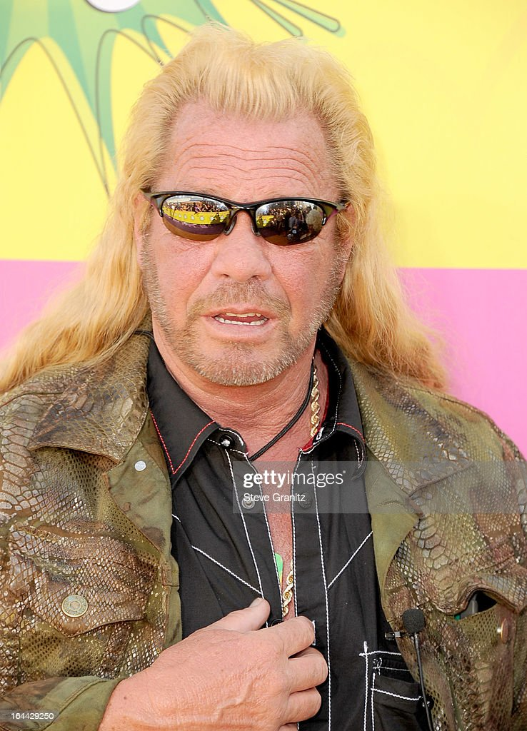 TV personality Duane 'Dog' Chapman arrives at Nickelodeon's 26th Annual Kids' Choice Awards at USC Galen Center on March 23, 2013 in Los Angeles, California.