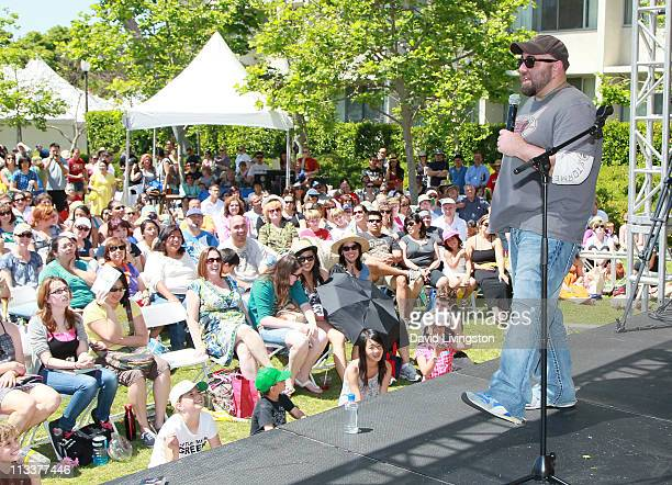 TV personality Duff Goldman attends the 16th Annual Los Angeles Times Festival of Books Day 2 at USC on May 1 2011 in Los Angeles California