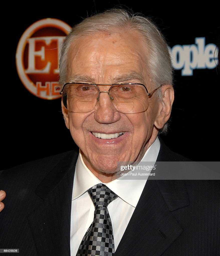 TV personality Ed McMahon arrives at the Entertainement Tonight Emmy party held at the Walt Disney Concert Hall on September 21, 2008 in Los Angeles, California.