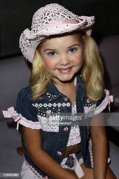 Personality Eden Wood attends the 2011 Cowgirl Riders Debutante fashion show at the Bryant Park Hotel Cellar Bar on September 15 2011 in New York City