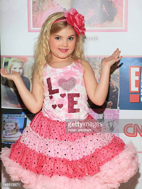 TV personality Eden Wood attends Tiny Tots Mini Mogul Fashion Event at Babestas on July 26 2012 in New York City