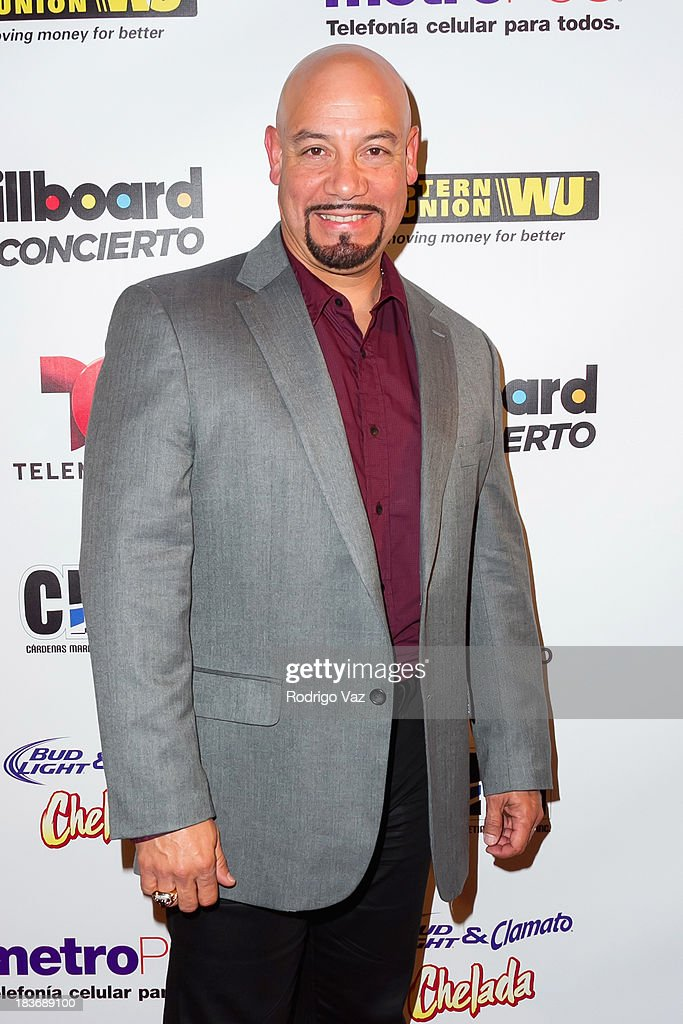 TV personality Edgar Lopez attends Billboard In Concert Series presents Calibre 50 at The Conga Room at L.A. Live on October 8, 2013 in Los Angeles, California.