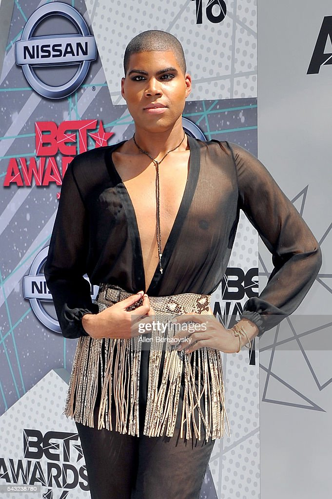 TV personality EJ Johnson attends the 2016 BET Awards at Microsoft Theater on June 26, 2016 in Los Angeles, California.