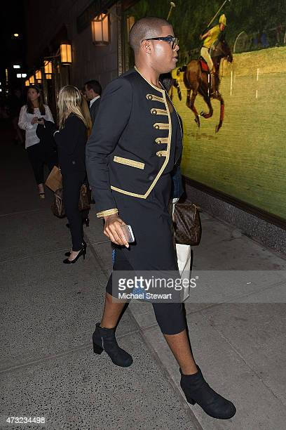 TV personality EJ Johnson seen on the streets of Manhattan on May 13 2015 in New York City
