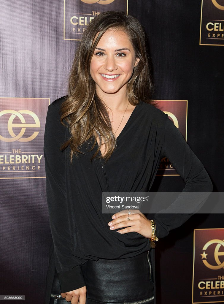 TV Personality Electra Formosa attends The Celebrity Experience with Debby Ryan at Hilton Universal Hotel on January 6, 2016 in Los Angeles, California.
