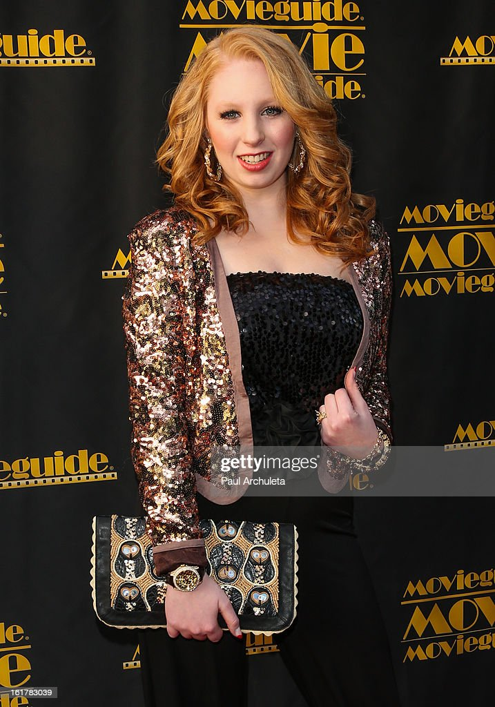 TV Personality Elizabeth Stanton attends the 21st annual Movieguide Awards at Hilton Universal City on February 15, 2013 in Universal City, California.