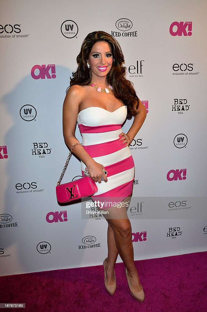 TV personality Elizabeth Vashisht attends the 2013 OK! Magazine 'So Sexy' Party at Marquee on May 1, 2013 in New York City.