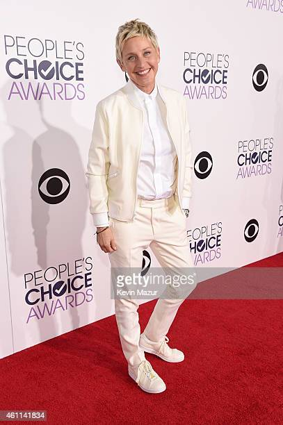 TV personality Ellen DeGeneres attends The 41st Annual People's Choice Awards at Nokia Theatre LA Live on January 7 2015 in Los Angeles California