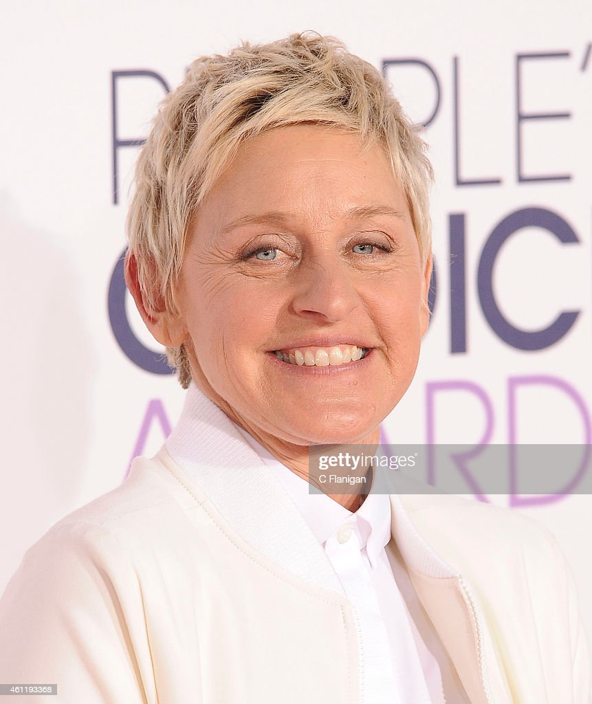 TV personality Ellen DeGeneres attends The 41st Annual People's Choice Awards at Nokia Theatre LA Live on January 7, 2015 in Los Angeles, California.