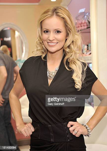 TV personality Emily Maynard attends Fashion's Night Out at Macy's Herald Square on September 6 2012 in New York City