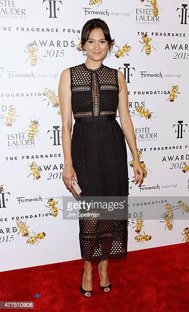 Personality Emma Willis attends the 2015 Fragrance Foundation Awards at Alice Tully Hall at Lincoln Center on June 17 2015 in New York City