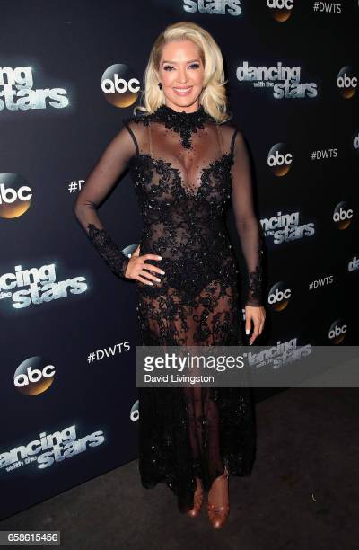 TV personality Erika Jayne attends 'Dancing with the Stars' Season 24 at CBS Televison City on March 27 2017 in Los Angeles California