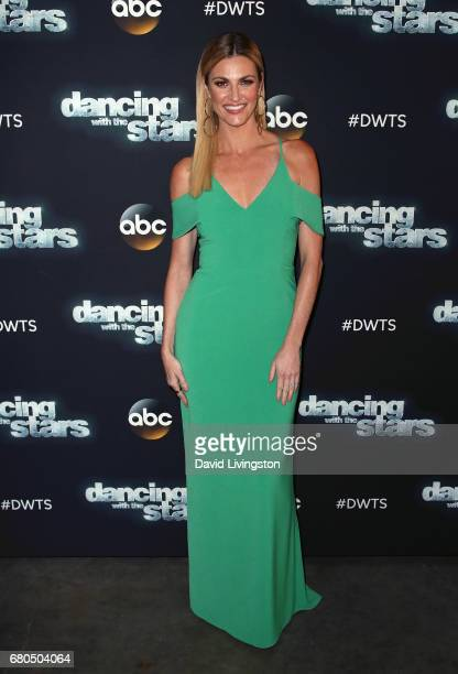 TV personality Erin Andrews attends 'Dancing with the Stars' Season 24 at CBS Televison City on May 8 2017 in Los Angeles California