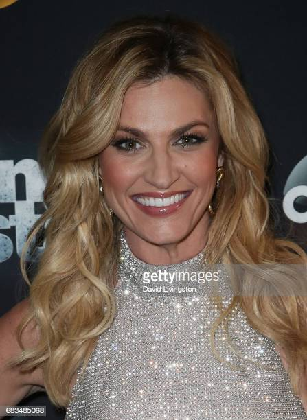 TV personality Erin Andrews attends 'Dancing with the Stars' Season 24 at CBS Televison City on May 15 2017 in Los Angeles California