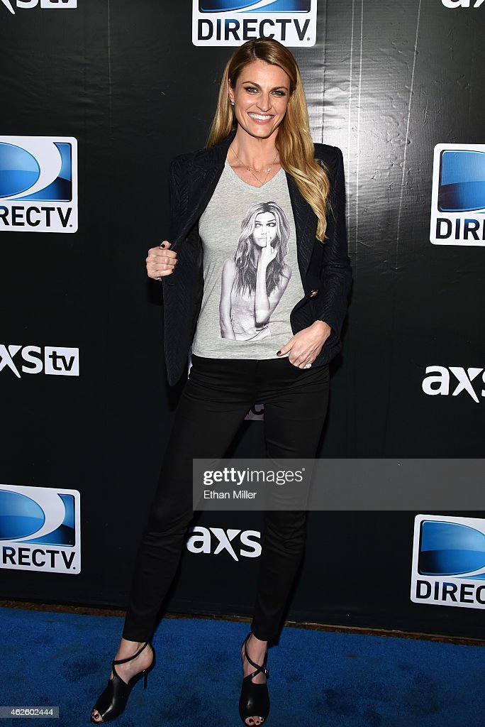 DirecTV Super Saturday Night Hosted By Mark Cuban's AXS TV And Pro Football Hall Of Famer Michael Strahan - Arrivals