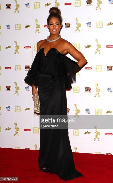 TV personality Erin McNaught arrives at the 52nd TV Week Logie Awards at Crown Casino on May 2 2010 in Melbourne Australia