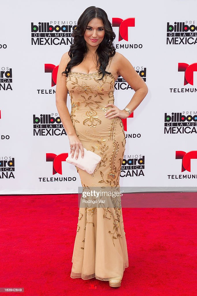 TV personality Estefania Iglesias attends the 2013 Billboard Mexican Music Awards arrivals at Dolby Theatre on October 9, 2013 in Hollywood, California.