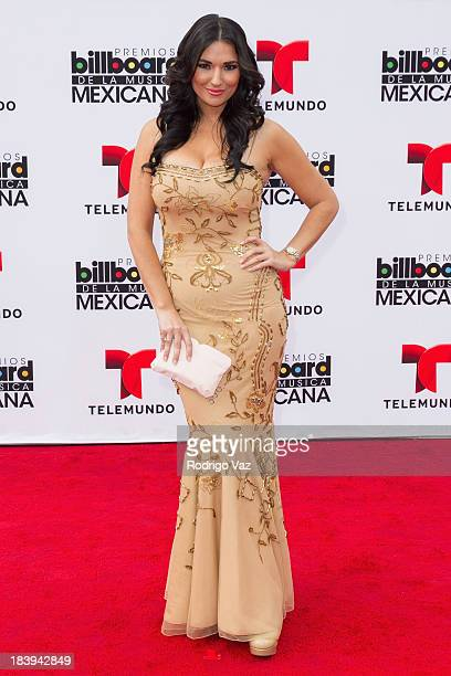 TV personality Estefania Iglesias attends the 2013 Billboard Mexican Music Awards arrivals at Dolby Theatre on October 9 2013 in Hollywood California