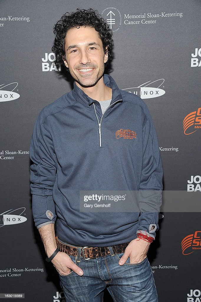 TV personality Ethan Zohn attends the 2013 Cycle For Survival Benefit at Equinox Rock Center on March 3, 2013 in New York City.